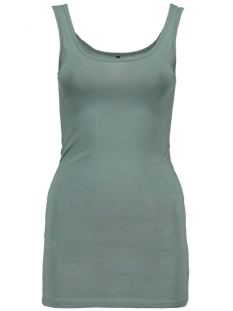 onlLIVE LOVE LONG TANK TOP NOOS 15060061 Blasam Green