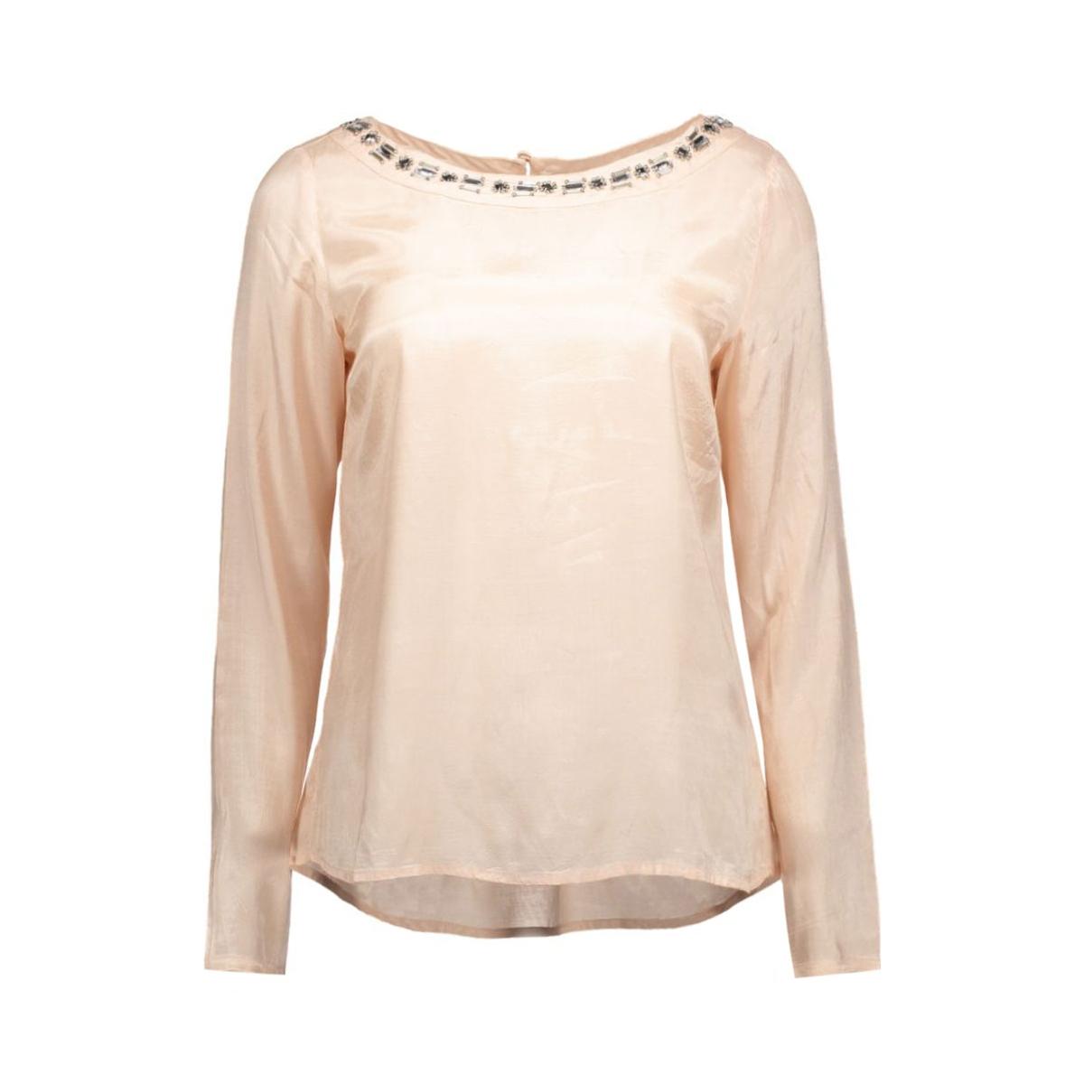 videca l/s boatneck top 14040323 vila t-shirt rose dust