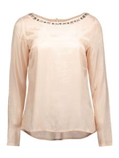 Vila T-shirt VIDECA L/S BOATNECK TOP 14040323 rose dust