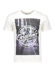 Jack & Jones T-shirt JORTOP TEE SS CREW NECK 12112541 Cloud Dancer