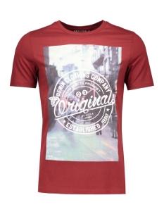 Jack & Jones T-shirt JORTOP TEE SS CREW NECK 12112541 Syrah