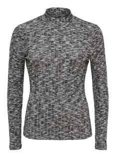 onlgreat ripena l/s top noos jrs 15118720 only trui dark grey melange