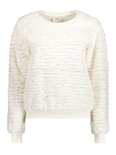 vmchico deer ls top box dnm jrs 10164579 vero moda trui snow white