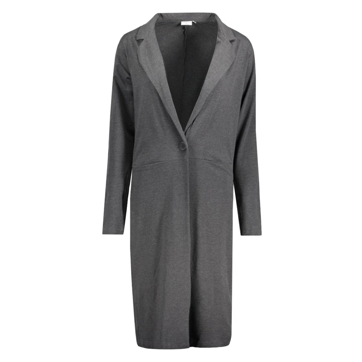 jdypruit l/s cardigan jrs 15120270 jacqueline de yong vest dark grey melange