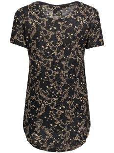 vmmilina hunter ss top box dnm jrs 10164695 vero moda t-shirt black