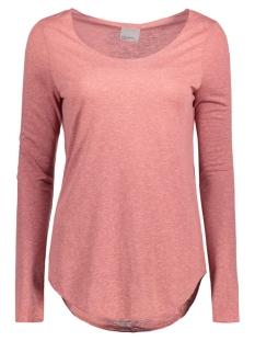 Vero Moda T-shirt VMLUA LS TOP NOOS 10158658 Mesa Rose