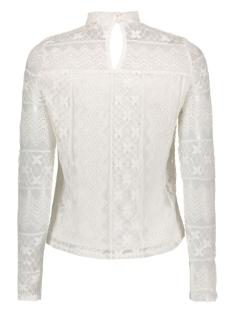vigipa l/s top 14040284 vila blouse snow white