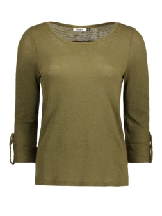 Only T-shirt onlJESS 3/4 TOP JRS NOOS 15096632 Dark Olive