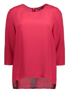 onlcinnamon 3/4 aop top wvn 15124306 only blouse jester red