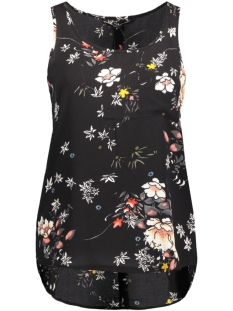 Only Top onlMALLORY ISTON S/L TOP WVN 15129870 Black/RockFlower