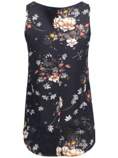 onlmallory iston s/l top wvn 15129870 only top night sky/rock flower