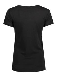 jdygin s/s print top jrs 09 15122948 jacqueline de yong t-shirt black/cloud dancer