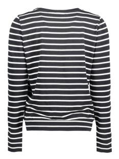 vitopi stripe sweat top 14039528 vila t-shirt black