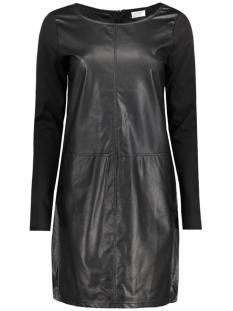 vitinny pu dress 14039731 vila jurk black