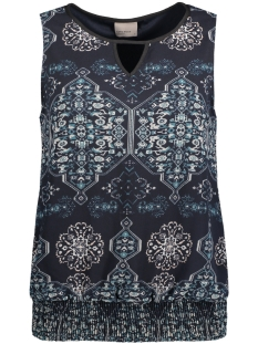 VMLUA S/L SMOCK TOP 10170667 Total Eclipse/ blue