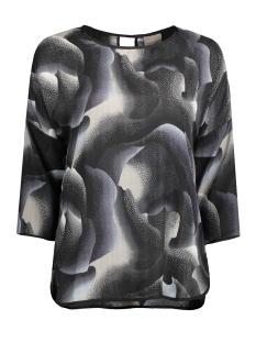 vmemma rebec 3/4 top d2-8 10173781 vero moda blouse moonbeam/emma