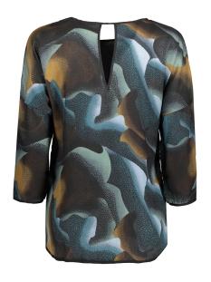 vmemma rebec 3/4 top d2-8 10173781 vero moda blouse reflecting pond/emma