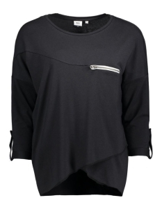 Object T-shirt OBJKANDIE PETTI L/S TOP 23020676 Black