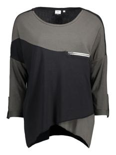 Object T-shirt OBJKANDIE PETTI L/S TOP 23020676 Beluga