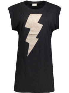 Noisy may T-shirt NMMERRY S/S LONG TOP 10164293 Black