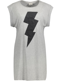 Noisy may T-shirt NMMERRY S/S LONG TOP 10164293 Light Grey