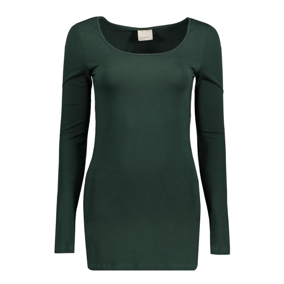 vmmaxi my ls soft long u-neck noos 10152908 vero moda t-shirt scarab