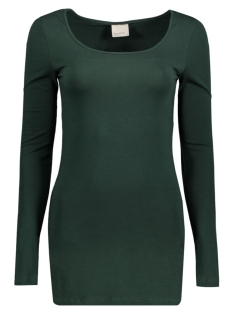 vmmaxi my ls soft long u-neck noos 10152908 vero moda t-shirt scarab