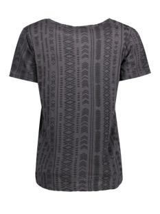 objisa s/s top fair 23022125 object t-shirt asphalt