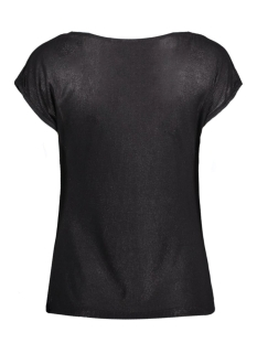 objvirgo s/s top 23023540 object t-shirt black