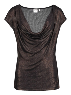 Object T-shirt OBJVIRGO S/S TOP 23023540 Copper Colour