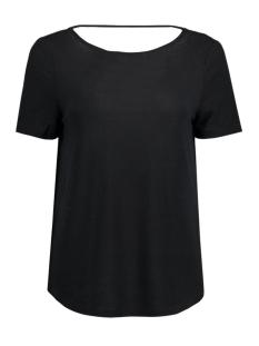 Vila T-shirt VISILLA MELANGE S/S TOP 14038975 Black/Melange