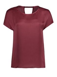 Vero Moda T-shirt VMABBY CAP SLEEVE TOP NFS 10172059 Zinfandel