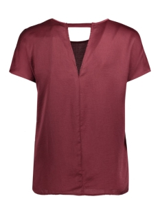 vmabby cap sleeve top nfs 10172059 vero moda t-shirt zinfandel