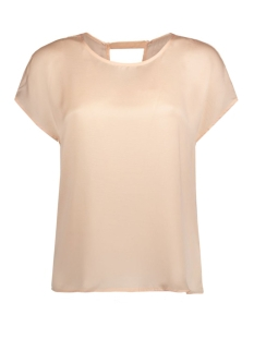 Vero Moda T-shirt VMABBY CAP SLEEVE TOP NFS 10172059 Cream Tan