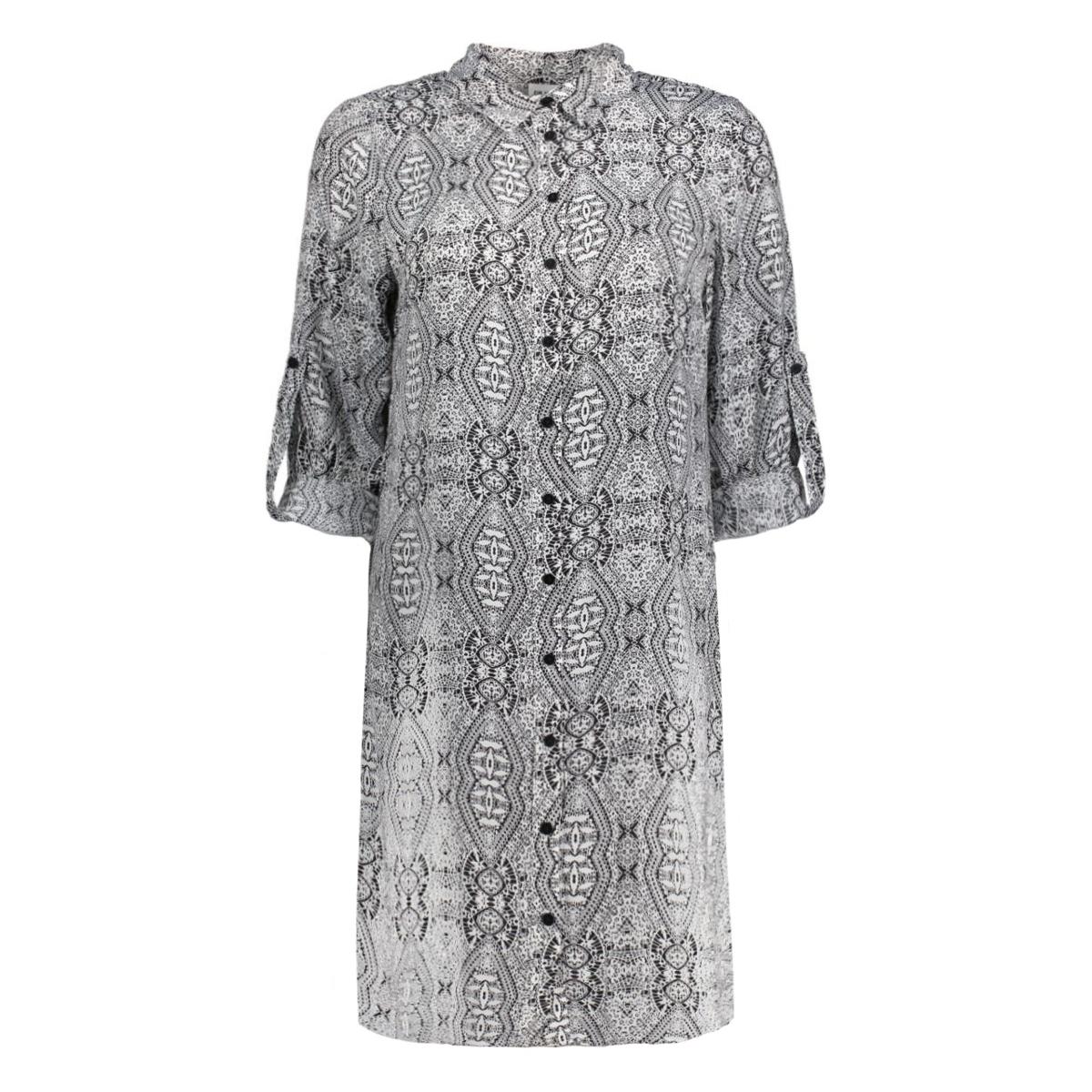 objhaik l/s long shirt 23023412 object blouse anthracite