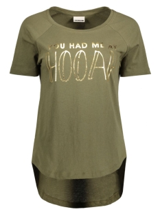 Noisy may T-shirt NMPETER S/S TOP 10167822 Ivy Green