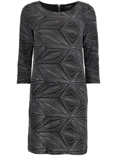 VITINNY ONO 3/4 SLEEVE DRESS 14039165 Black/Silver