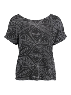 Vila T-shirt VIONO TOP 14037534 Silver Colour/Silver