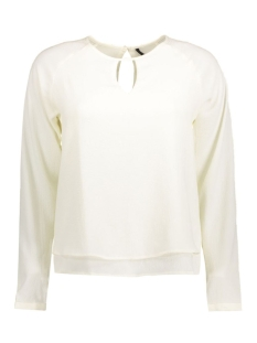 Only Blouse onlMARIANA MYRINA SOLID L/S TOP WVN 15126495 Cloud Dancer