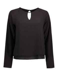 Only Blouse onlMARIANA MYRINA SOLID L/S TOP WVN 15126495 Black