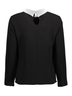 onlturner l/s collar top wvn 15133097 only blouse black
