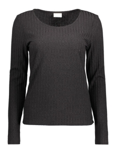 Vila T-shirt VIPUNTO L/S TOP 14037689 Black