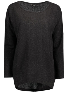 Only T-shirt onlROXIN ELCOS L/S TOP JRS 15131622 Black