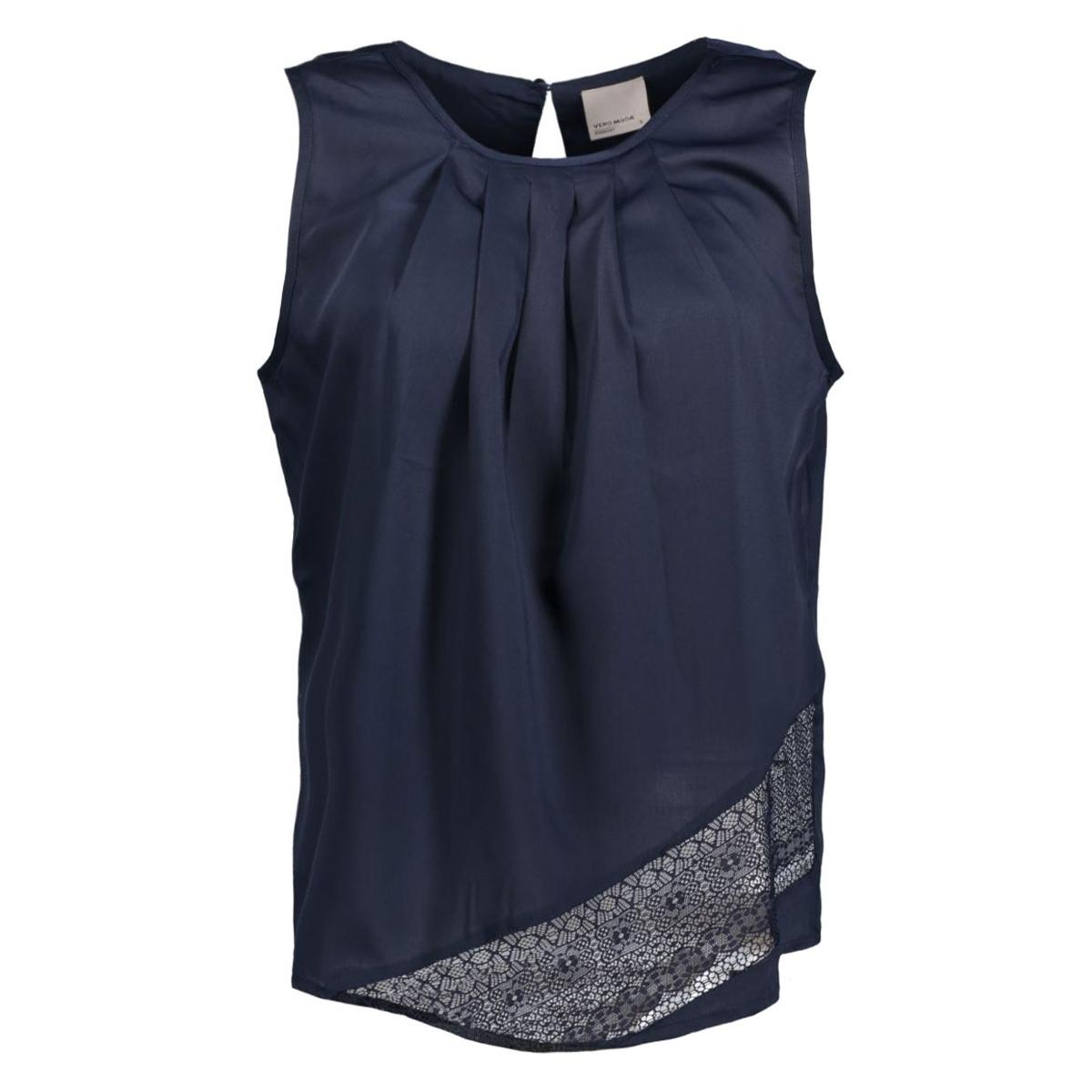 vmfilipa resta s/l midi top e10 10168610 vero moda top navy blazer