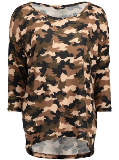 Only Trui onlELCOS L/S CAMO TOP JRS 15133168 ivy green