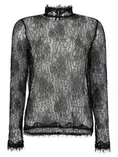 Vero Moda T-shirt VMMAYA LACE L/S HIGH NECK TOP NFS 10167916 Black