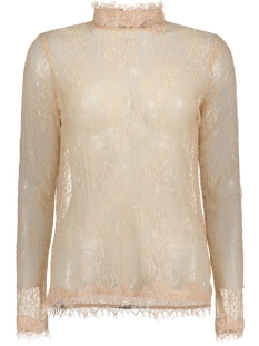 VMMAYA LACE L/S HIGH NECK TOP NFS 10167916 Rose Dust