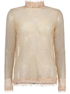 Vero Moda T-shirt VMMAYA LACE L/S HIGH NECK TOP NFS 10167916 Rose Dust