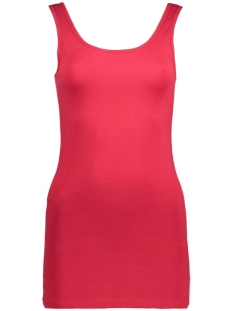 Only Top onlLIVE LOVE LONG TANK TOP NOOS 15060061 Jester Red