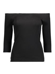 Vero Moda T-shirt VMBAL OPENSHOULDER 3/4 TOP NFS 10177611 Black